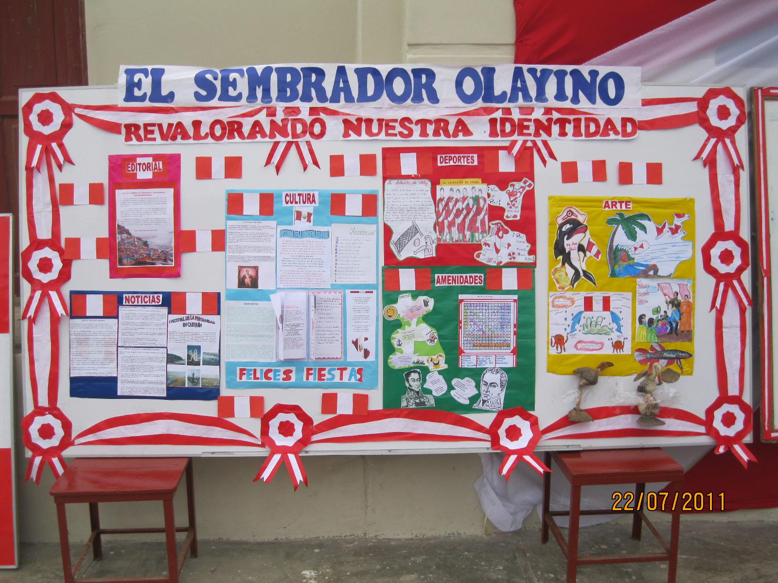 I e jose olaya balandra carquin concurso de periodico for El periodico mural wikipedia