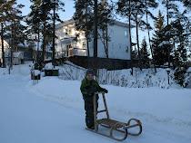 vårt hus-i vinterskrud
