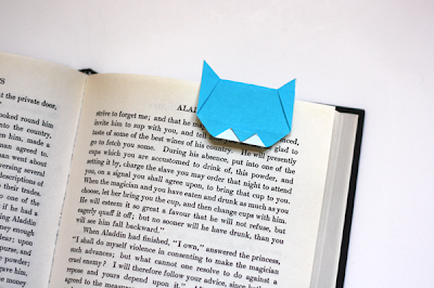how to make an origami bookmark instructions