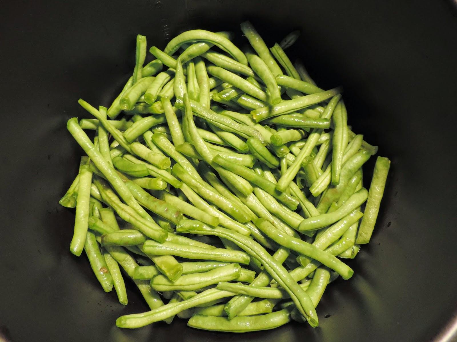 Cocinando con maribel judias verdes al vapor en olla - Judias verdes en olla express ...