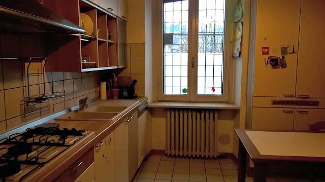 appartamento trilocale vendita bergamo via locatelli 73 cucina