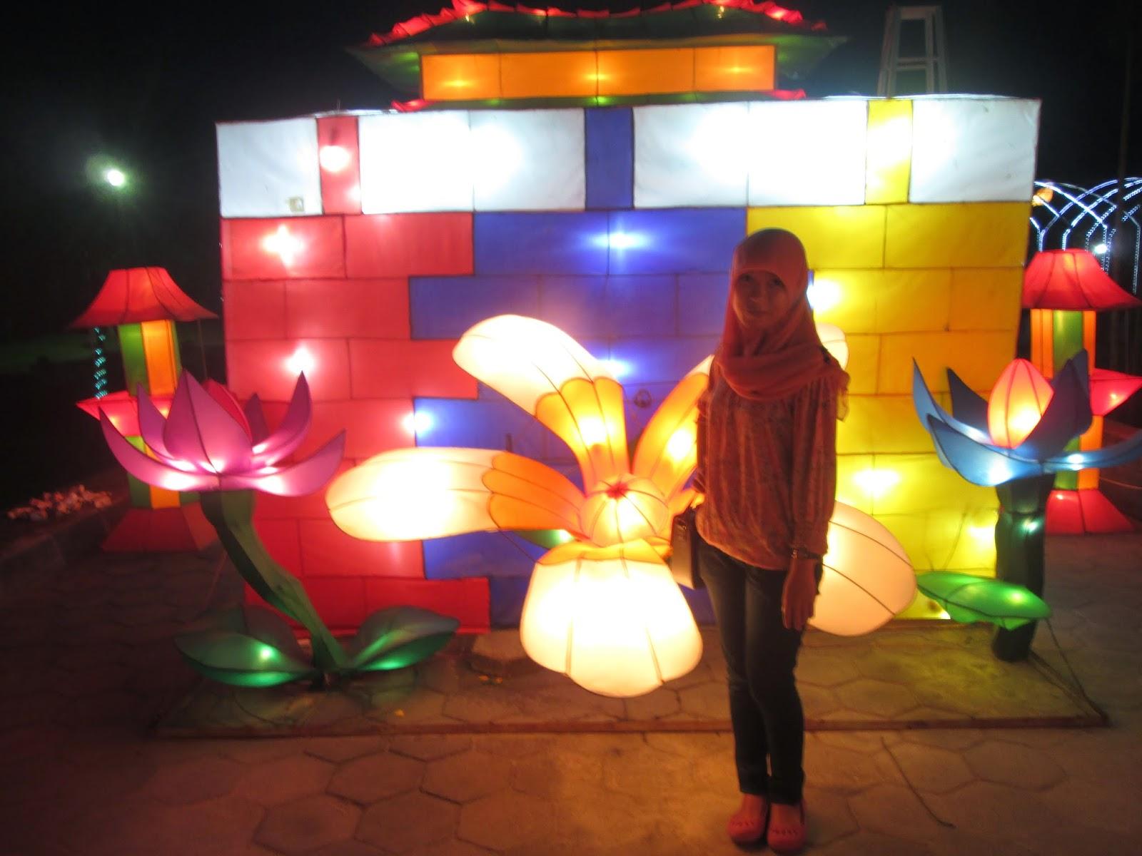 Taman Lampion Taman Pelangi Destinasi Wisata Jogja Dan Sekitarnya
