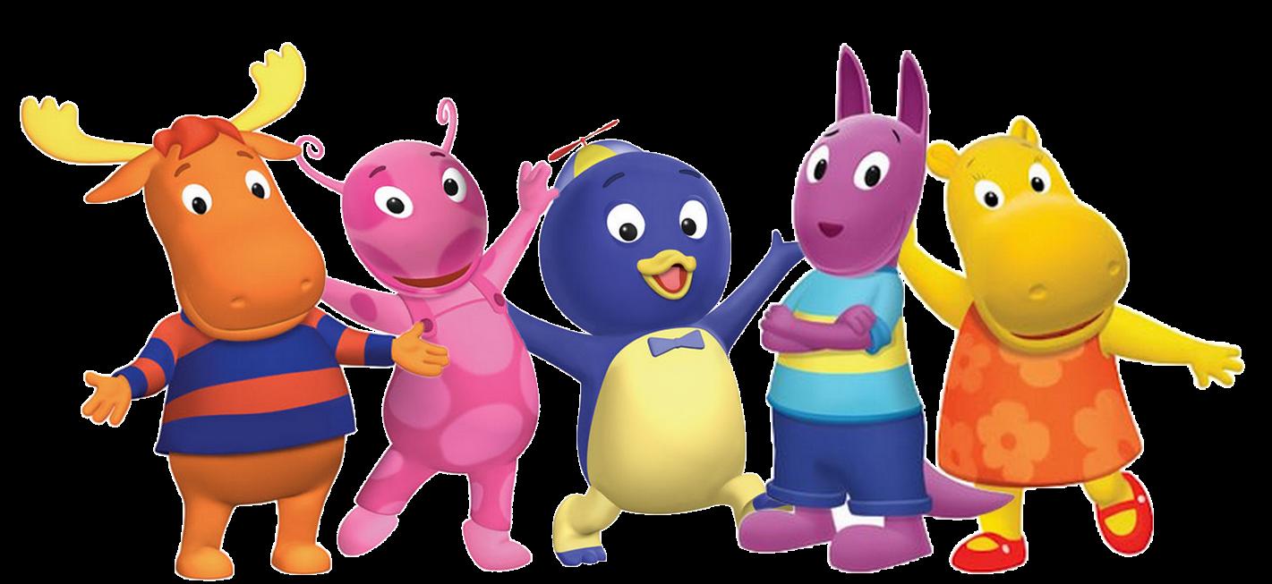 Little Backyardigans : Cartoon Characters Backyardigans PNG pack