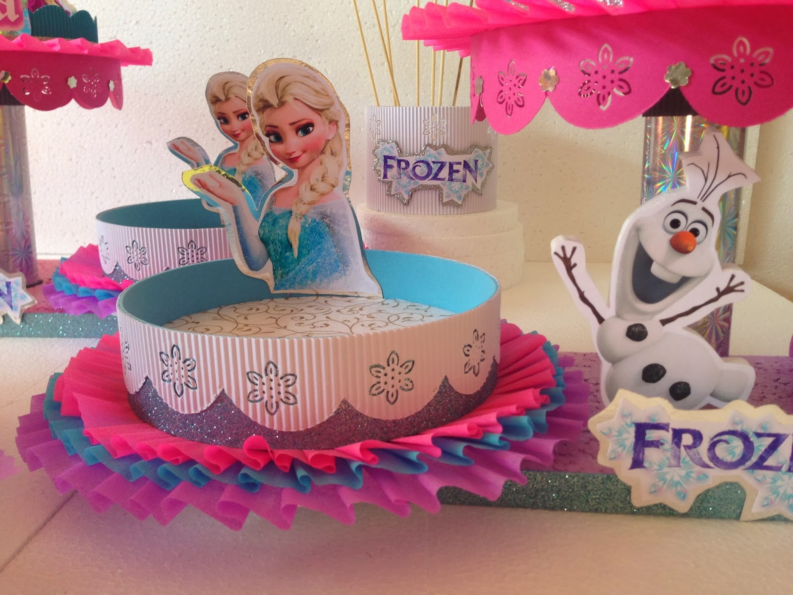 Decoraciones infantiles frozen for Decoraciones infantiles
