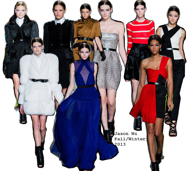 Jason Wu Fall/Winter 2013 NYFW Collection