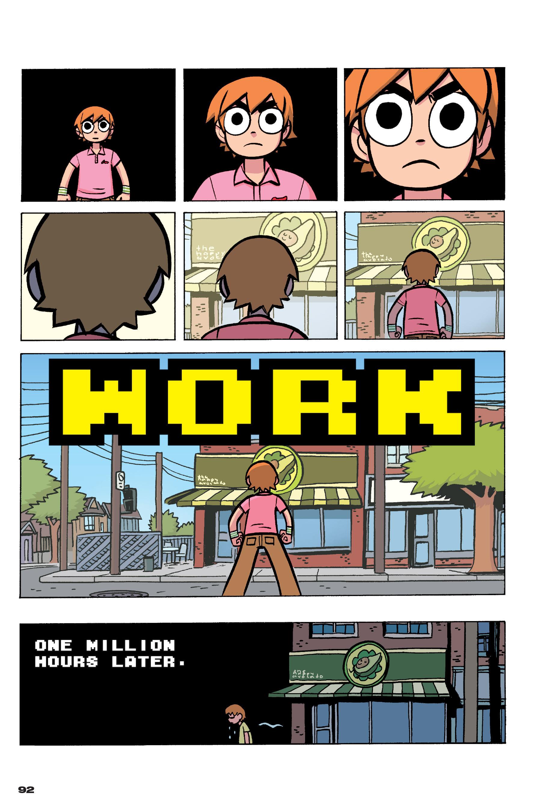 Read online Scott Pilgrim comic -  Issue #4 - 90