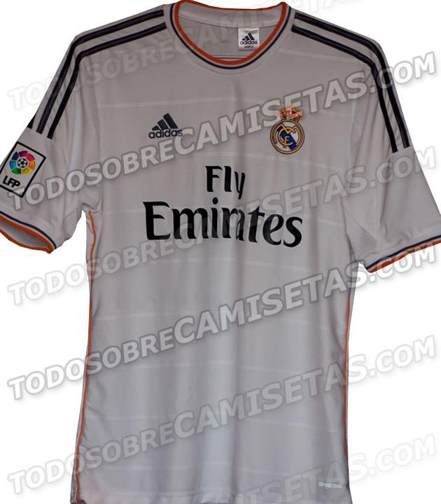 La nueva camiseta del Real Madrid 2013