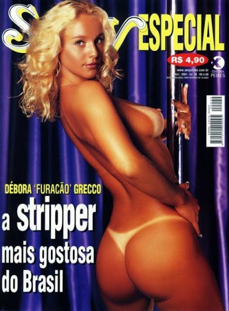 Débora Grecco - Sexy Especial 2001