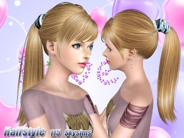 custom sims 3 skysims hair 115