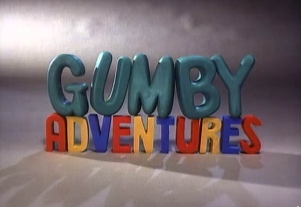 Gumby Title Card An original claymation show by Art Clokey televised in the Philippines back in 90's  in ABC-5 now TV5