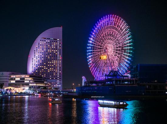 Melancong percuma ke Osaka Jepun bersama Sahajidah Hai-O Marketing melawat Tempozan Ferris Wheel
