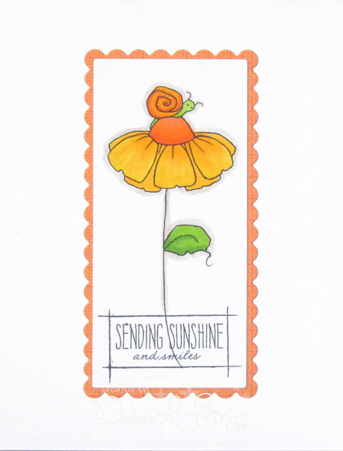 Sending Sunshine - photo by Deborah Frings - Deborah's Gems