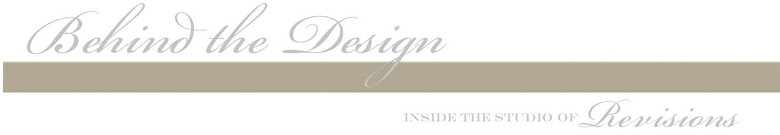 Revisions Design Studio.... behind the scenes...