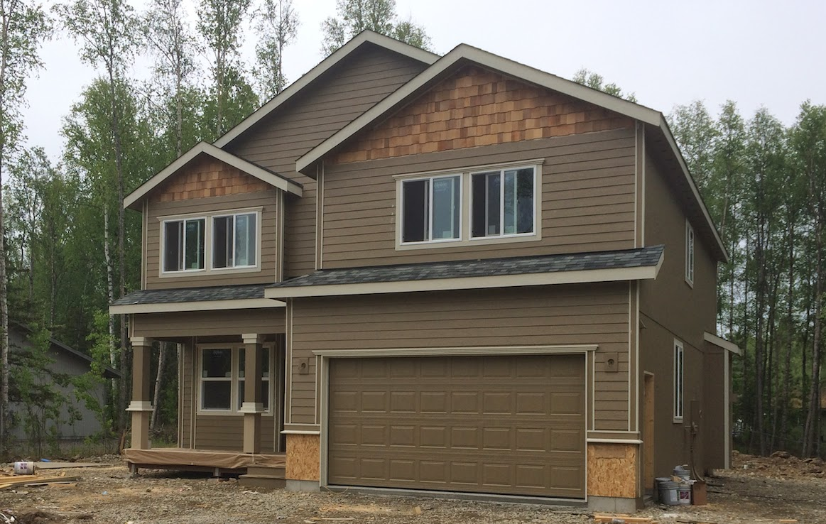 Open house custom new for Home builders in wasilla ak