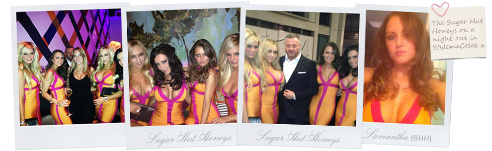 The Sugar Hut Honey's wear Style Me Celeb