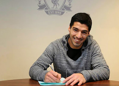 Luis Suarez Liverpool Contract 2013