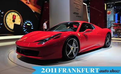 Frankfurt Auto Show 2011 Ferrari 458 Spider