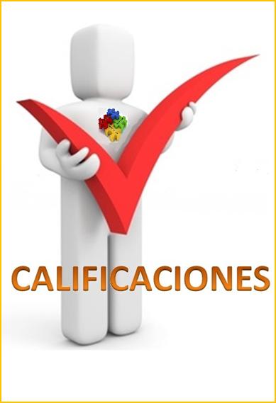 CALIFICACIONES AL FINAL DE LAS CLASES