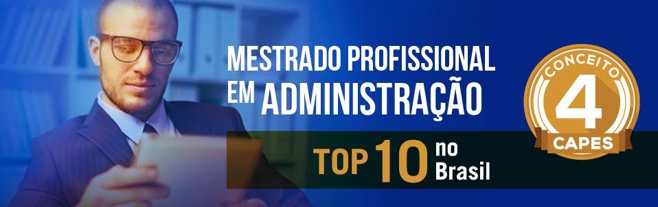 Mestrado profissional administração
