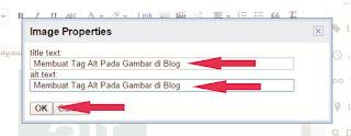Membuat Tag Alt Pada Gambar di Blog