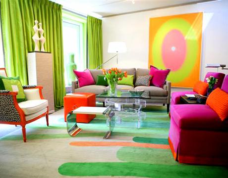 kreativiti dekorasi ruang tamu - relaks minda