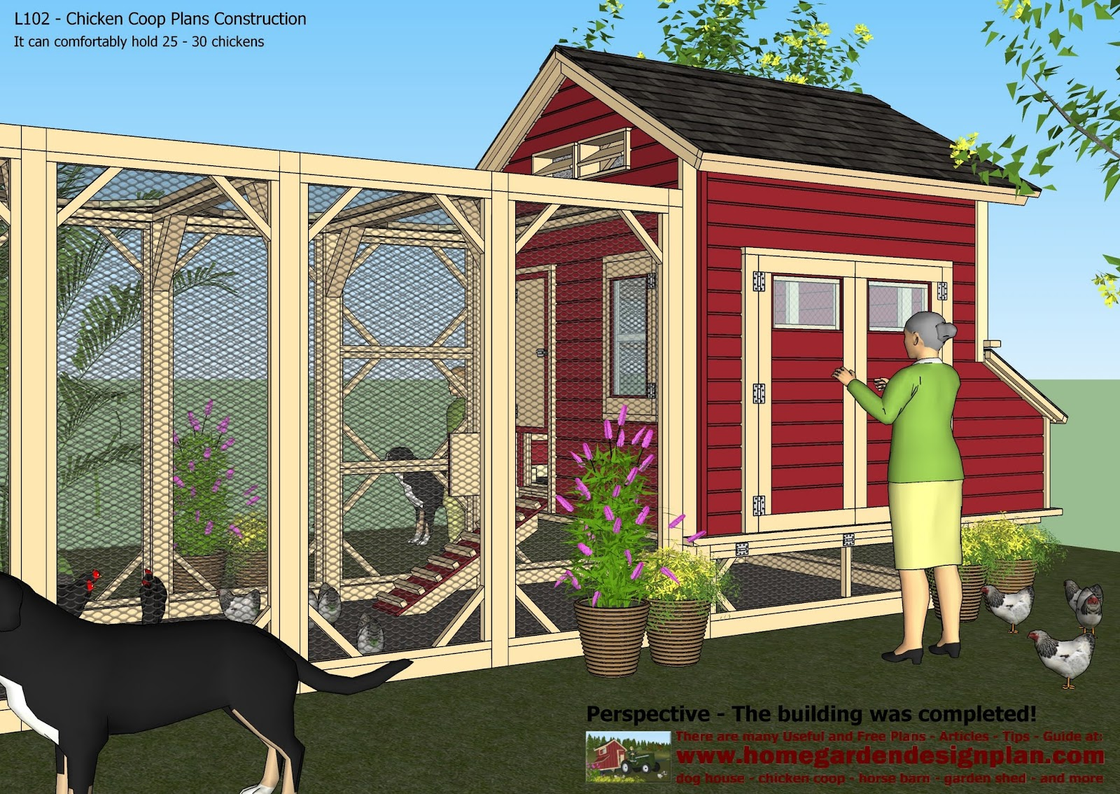 chicken coop building plans pdf