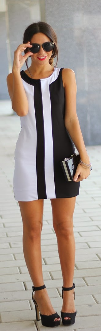 Black & White Classic Street Chic | Summer Outfits
