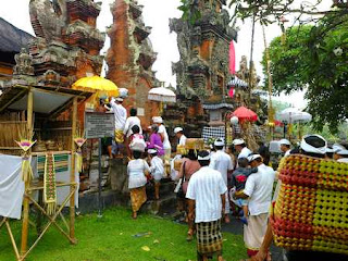Rambut Siwi Temple, religious ceremony on 28 November 2012