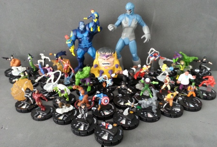 Heroclix collection