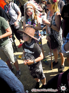 Glastonbury Festival. 2013. Kids