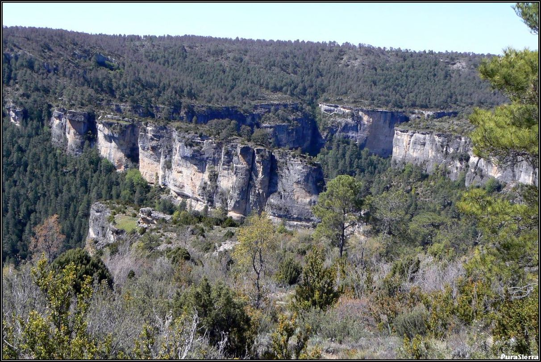 Hoz Del Alonguero (Hoz Del Alonjero). Río Cuervo (Beteta)