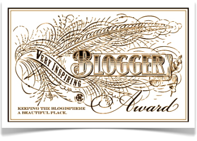 Premio Very Inspiring Blogger Award