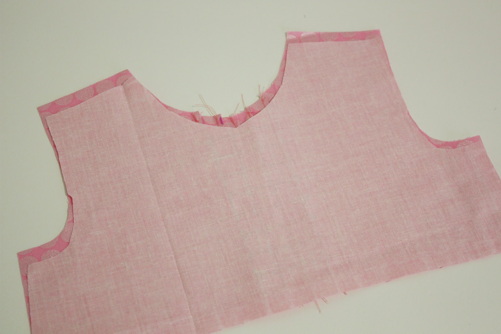 How to add pintucks to any pattern sew much ado you can now stitch the shoulder seams of the front to the back of the main fabric and lining and then stitch the main fabric and lining together at the jeuxipadfo Image collections