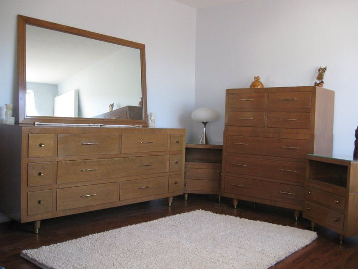 For Sale By MoPho: John Stuart Inc Six Piece Bedroom Set   SOLD