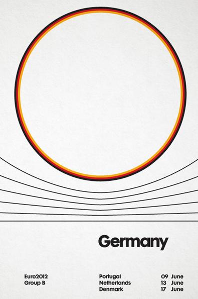 Posters Euro 2012 Alemanha