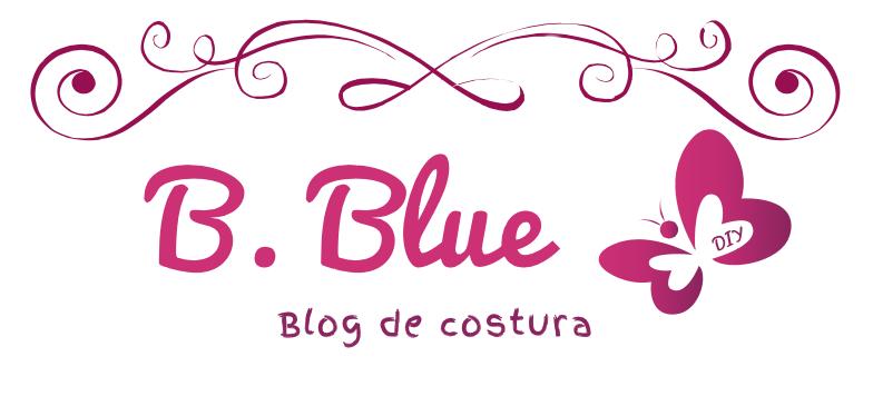 B. Blue
