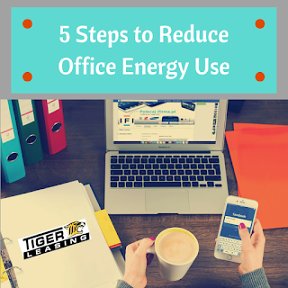 5 Steps to Reduce Office Energy Use
