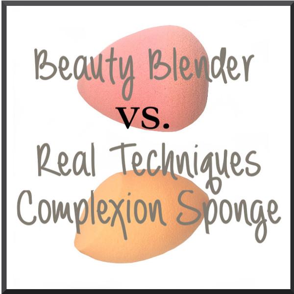 Beauty Blender Vs. Real technique miracle complexion sponge