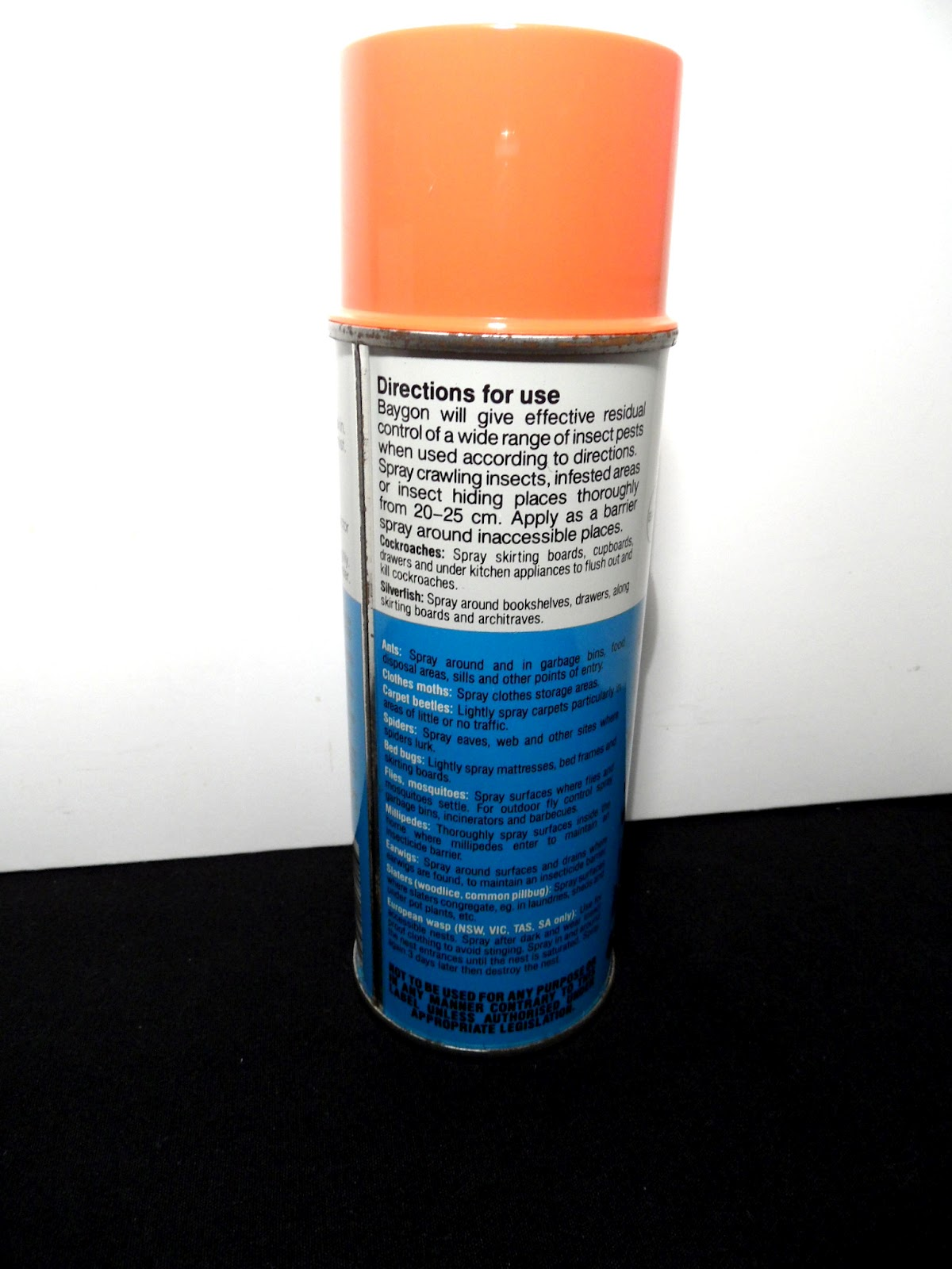 Baygon Aerosol Invader Diy Pest Control Store Twin Pack Natural Orange 600ml Download