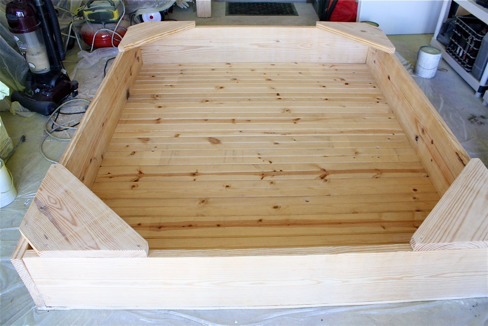 Backyard Sandbox Ideas low cost lasts for year perfect for huge sandboxes check out our downloadable Backyard Sandbox Made Everyday