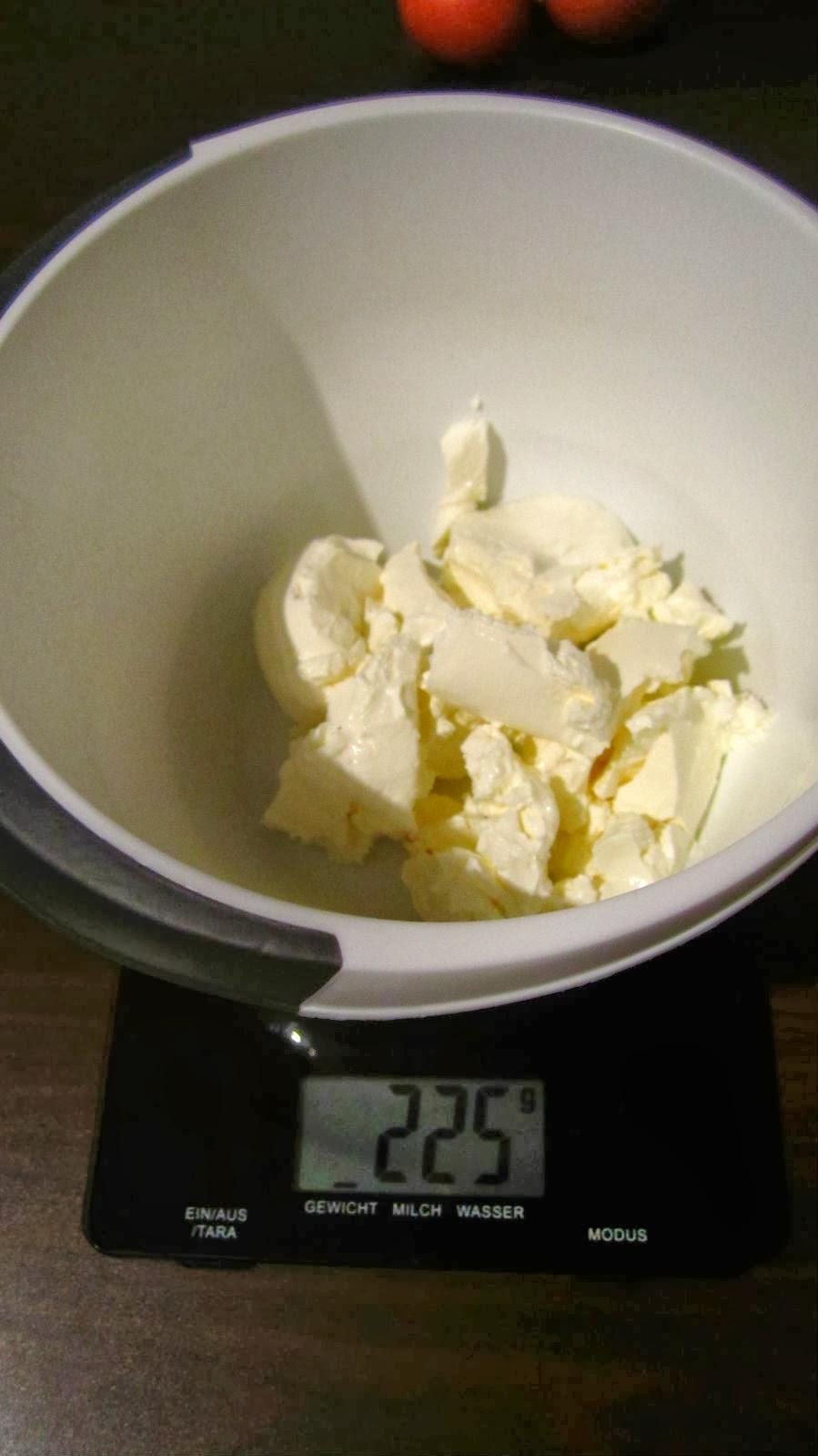 225 g cream cheese