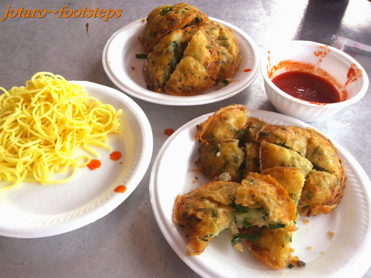 prawn fritters fried in a turmeric batter cucur udang prawn fritters ...