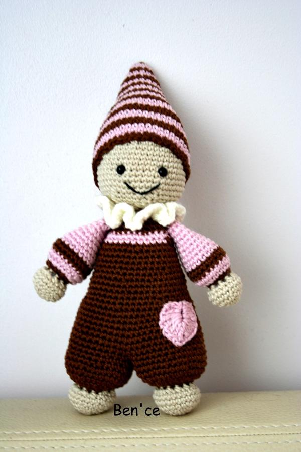 Amigurumi Cuddly Baby : Bence: Amigurumi Bebek / Amigurumi Cuddly Baby
