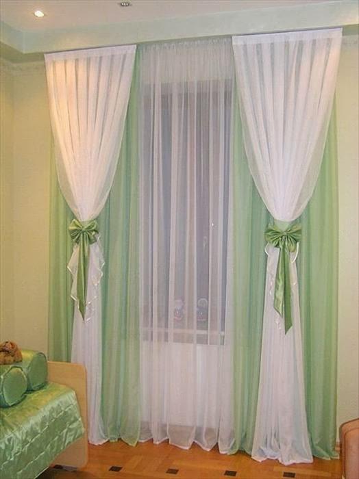 Вуаль шторы своими руками