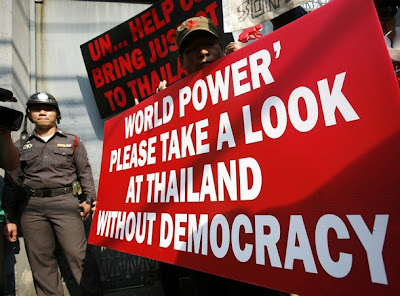 Globalists Fueling Unrest in Thailand AskingGlobalistsForHelp
