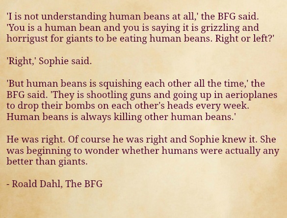 Rhold Dahl The Bfg Quotes. QuotesGram