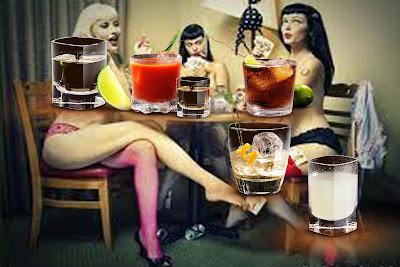 5 shots tequila