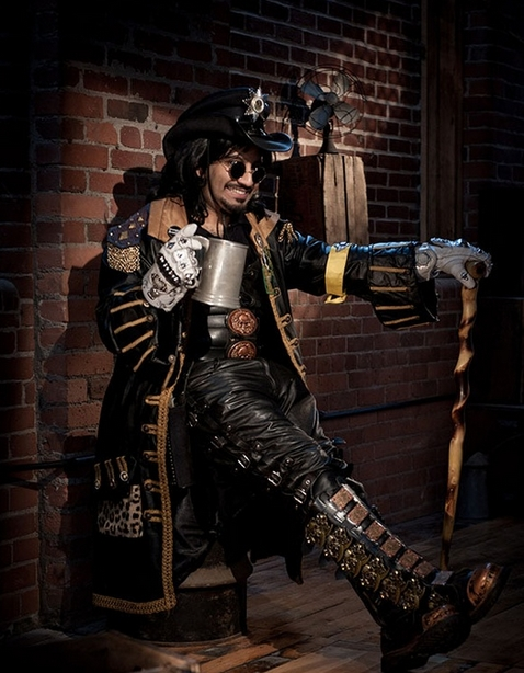 steampunk clothing men