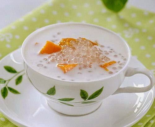 Mango Sweet Soup with Tapioca Pearl (Chè Xoài Trân Châu)
