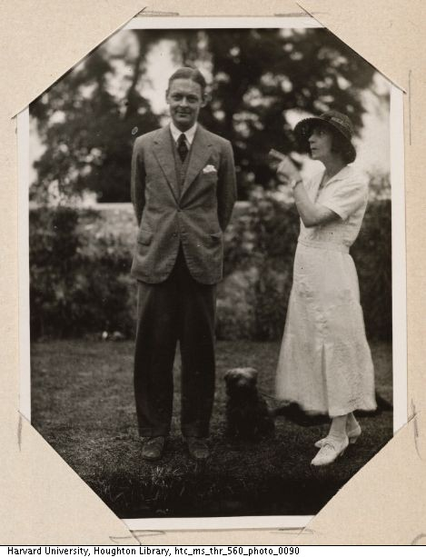 Tom and Vivienne Eliot